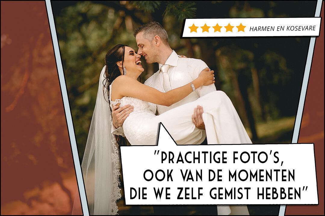 fotograaf bruiloft trouwfoto